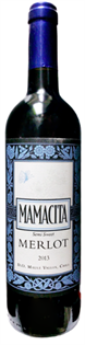 Mamacita Merlot Semi Sweet 750ml - Case...